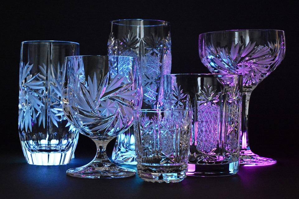 Bar e copos.