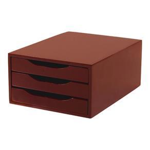 documentos organizados em gavetas